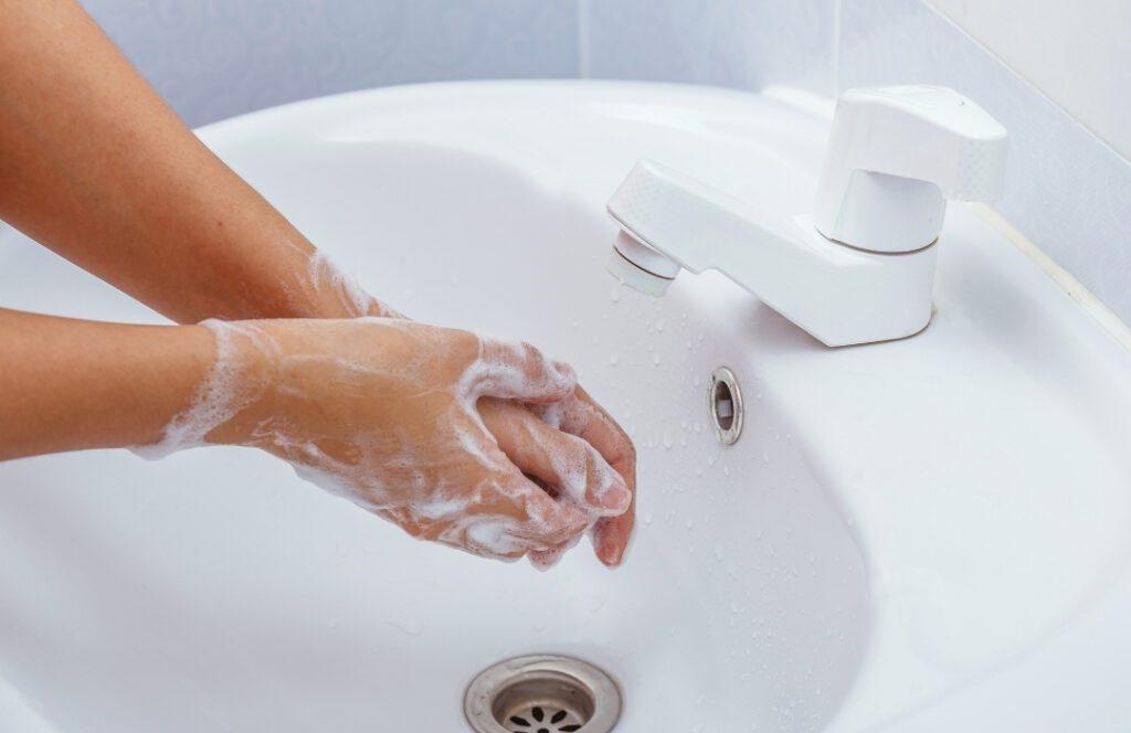 Limpieza de manos