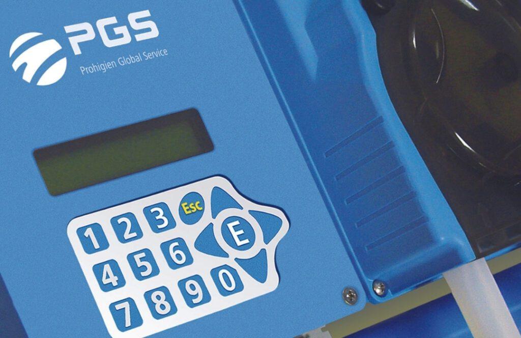 PGS sistemas dosificación lavanderías