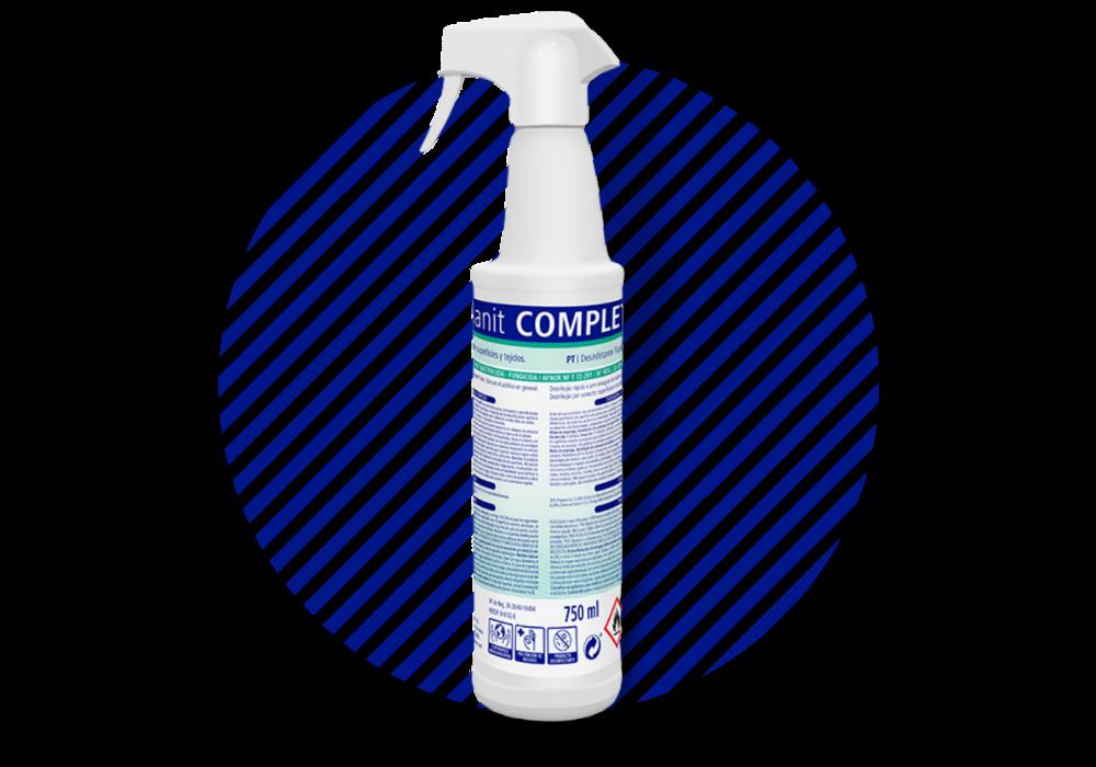 Sanit Complet - Desinfectante de superficies y tejidos