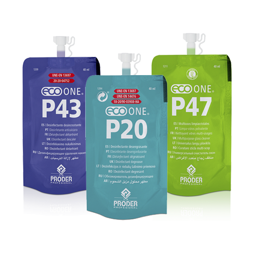Ultraconcentrados - P43, P20 y P47 - productos sostenibles